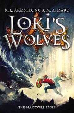 Bookjacket for  Loki's wolves