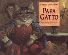 Bookjacket for  Papa Gatto