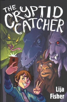 Bookjacket for The cryptid catcher