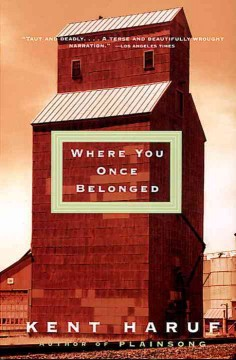 Bookjacket for  Where you once belonged