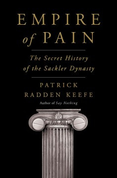 Bookjacket for  Empire of pain