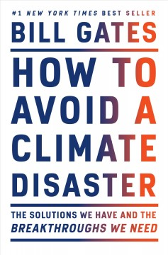 Bookjacket for  How to avoid a climate disaster