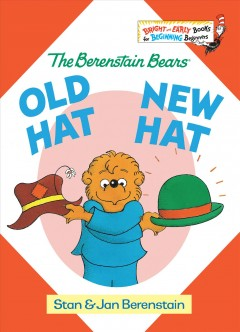 Bookjacket for  Old hat, new hat,