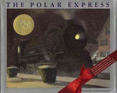 Bookjacket for The Polar Express