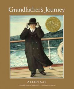 Bookjacket for  Grandfather's Journey
