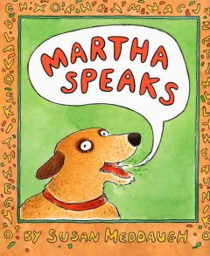 Bookjacket for  Martha Speaks