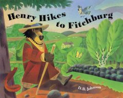 Bookjacket for  Henry Hikes to Fitchburg