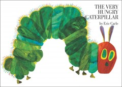 Bookjacket for The Very Hungry Caterpillar