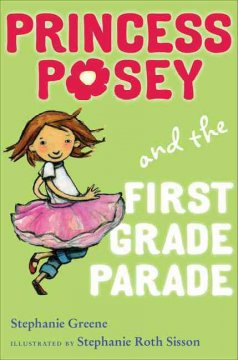 Bookjacket for  Princess Posey and the First Grade Parade