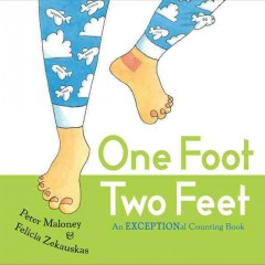 Bookjacket for  One Foot Two Feet : An Exceptional Counting Book