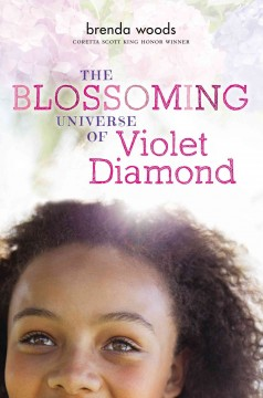 Bookjacket for The Blossoming Universe of Violet Diamond