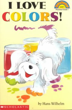 Bookjacket for  I love colors!