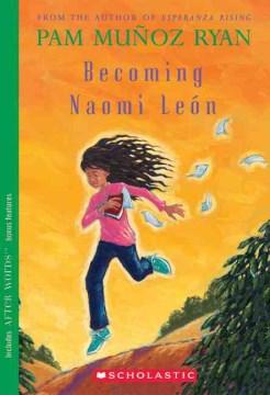 Bookjacket for  Becoming Naomi León