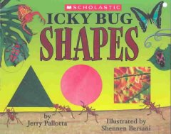 Bookjacket for  Icky Bug Shapes