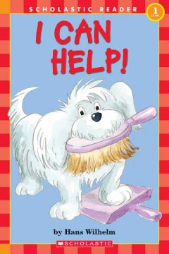 Bookjacket for  I can help