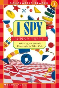 Bookjacket for  I spy funny teeth