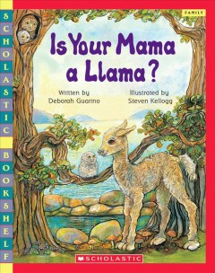 Bookjacket for  Is Your Mama a Llama
