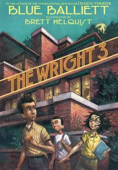 Bookjacket for The Wright 3