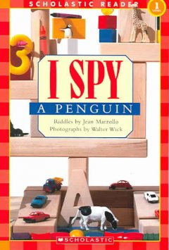 Bookjacket for  I spy a penguin