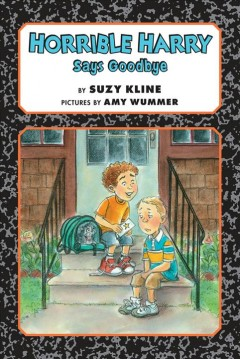 Bookjacket for  Horrible Harry says goodbye