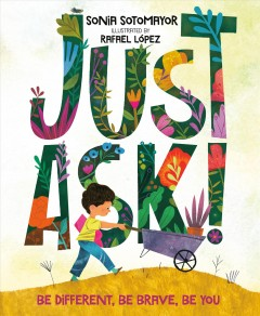 Bookjacket for  Just ask!