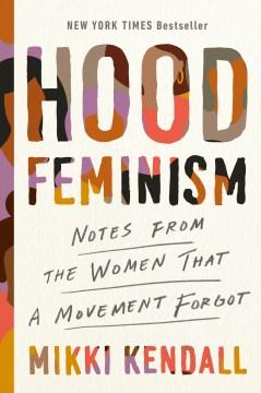 Bookjacket for  Hood feminism