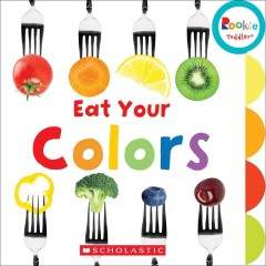 Bookjacket for  Eat Your Colors.