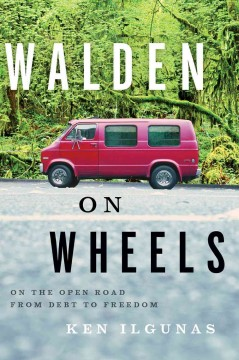 Bookjacket for  Walden on wheels