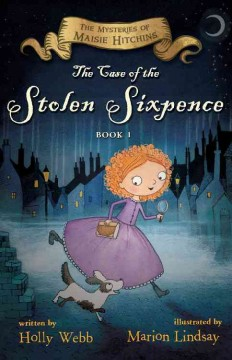 Bookjacket for The Case of the Stolen Sixpence
