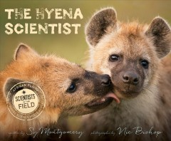 Bookjacket for The hyena scientist