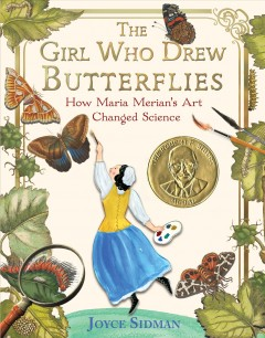Bookjacket for The girl who drew butterflies