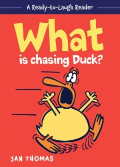Bookjacket for  What is chasing Duck?