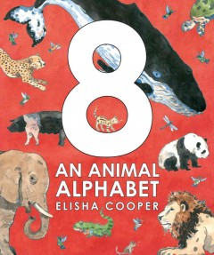 Bookjacket for  8: An Animal Alphabet
