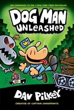 Bookjacket for  Dog Man unleashed