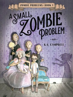Bookjacket for A Small zombie problem