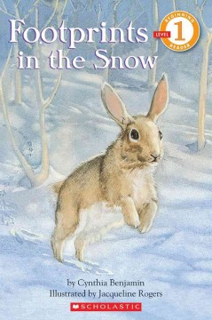 Bookjacket for  Footprints in the snow