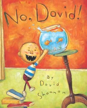 Bookjacket for  No, David!