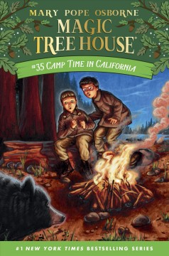 Bookjacket for  Camp time in California