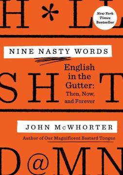 Bookjacket for  Nine nasty words