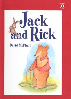 Bookjacket for  Jack and Rick