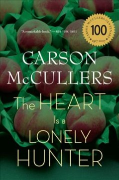 Bookjacket for The heart is a lonely hunter