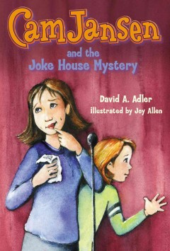 Bookjacket for  Cam Jansen and the Joke House Mystery