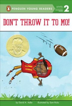 Bookjacket for  Don't Throw it to Mo!