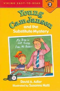 Bookjacket for  Young Cam Jansen and the Substitute Mystery