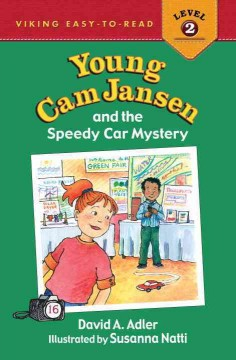 Bookjacket for  Young Cam Jansen and the Speedy Car Mystery