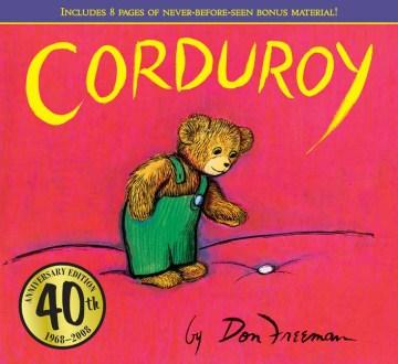 Bookjacket for  Corduroy