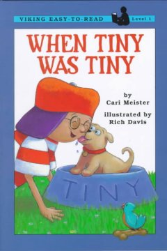 Bookjacket for  When Tiny was tiny
