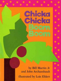 Bookjacket for  Chicka Chicka Boom Boom