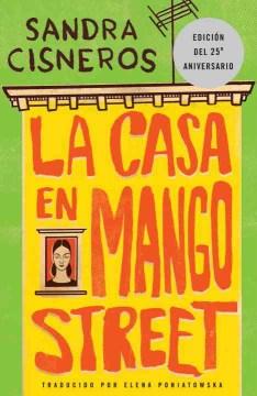 bookjacket for La casa en Mango Street