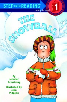 Bookjacket for The snowball